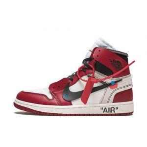 Fake Off-White Jordan 1 High Chicago