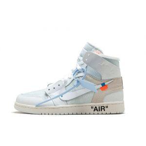 Fake Off-White x Jordan 1 High White