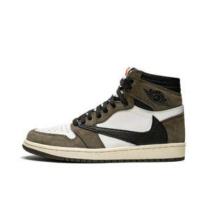 Travis Scott  Jordan 1 High Fake Sneaker