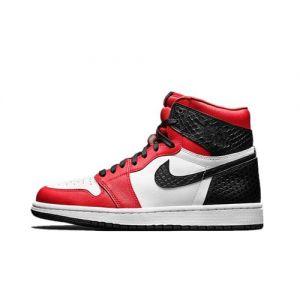 Best Fake Jordan 1 High Satin Snake Chicago