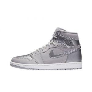 Quality Fake Jordan 1 High CO.JP Metallic Silver
