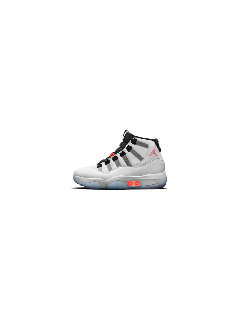 Fake Jordan 11 Adapt White