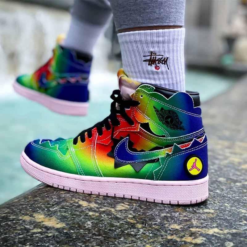 Fake Jordan 1 Retro High J Balvin